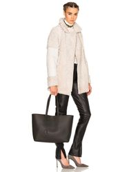 Saint Laurent Large Shopping Bag In Black