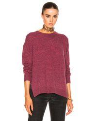 Acne | Pink Deniz Sweater | Lyst