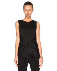 Calvin Klein - Black Alona Knit Top - Lyst