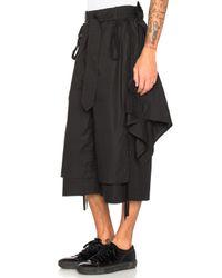 Craig Green - Black Layered Shorts - Lyst