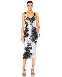 Enza Costa | Multicolor Rib Tank Midi Dress | Lyst