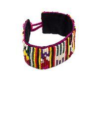 Etro | Black Beaded Bracelet | Lyst