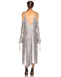 Magda Butrym Gray Lancaster Dress