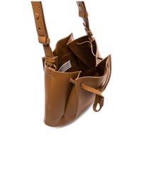 Maison Margiela Brown Large Bucket Bag