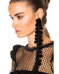 N°21 - Black Tassel Single Earring - Lyst