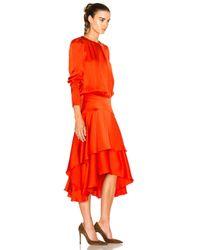 Preen By Thornton Bregazzi Red Annabelle Dress