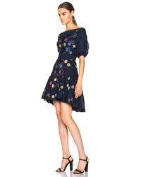 Peter Pilotto | Blue Daphnae Dress | Lyst