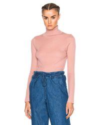 Ulla Johnson | Blue Mars Turtleneck Sweater | Lyst