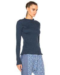 Ulla Johnson - Blue Mora Sweater - Lyst