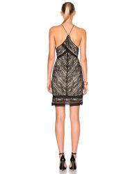 Lover - Black Helix Halter Dress - Lyst