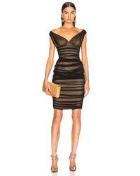 Norma Kamali Black Tara Dress