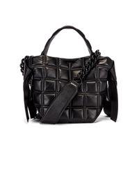 Acne Black Mini Quilted Musubi Bag
