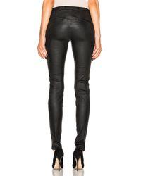 Helmut Lang - Black Leather Legging - Lyst