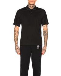 Y-3 Black Classic Polo for men