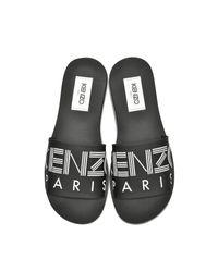 Sandales pour Homme en Néoprène Noir KENZO pour homme en coloris Black