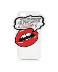 Philipp Plein White J'adore Plein Rubber Iphone 5 Cover