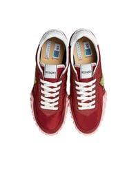 KENZO Women's Red Polyamide Sneakers