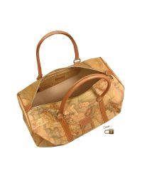 Alviero Martini 1A Classe - Metallic 1a Prima Classe - Small Travel Duffel Bag - Lyst