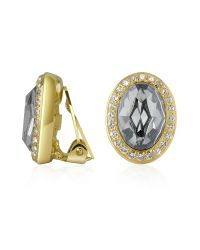 AZ Collection | Gray Clip-on Earrings | Lyst