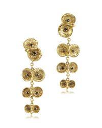Bernard Delettrez - Metallic Bronze 4 Owls Earrings - Lyst