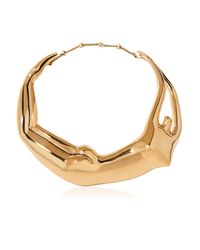 Aurelie Bidermann - Metallic Figuratives Body Gold Plated Necklace - Lyst