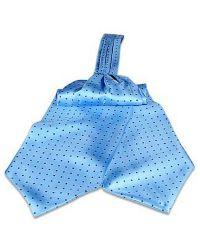 FORZIERI   Blue Polkdot Silk Ascot for Men   Lyst