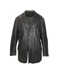 FORZIERI | Men's Black Leather Jacket for Men | Lyst