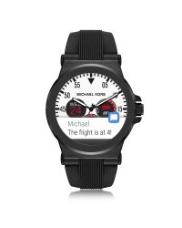 Michael Kors | Access Dylan Black Silicone Smartwatch for Men | Lyst
