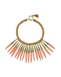 Antik Batik | Multicolor Noli Leather And Metal Necklace | Lyst