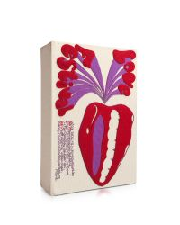 Olympia Le-Tan | Red Love Festival Book Clutch | Lyst