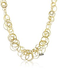 Orlando Orlandini | Scintille - Diamond 18k Yellow Gold Chain Necklace | Lyst