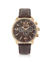 Just Cavalli - Earth - Brown Croco Multifunction Watch for Men - Lyst