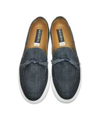 Fratelli Rossetti - Blue Denim Slip On Sneaker for Men - Lyst