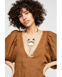 Free People - Multicolor Casablanca Stone Necklace - Lyst