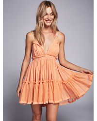 Free People | Natural 100 Degree Dress | Lyst