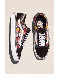 c62e436e37 Free People. Women s Old Skool Lux Floral Trainer By Vans