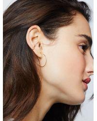 Free People - Metallic Stardust Diamond Ear Cuff - Lyst