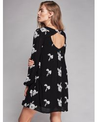 Free People Multicolor Embroidered Austin Dress