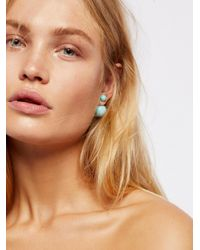 Free People | Multicolor Double Sided Orbit Studs | Lyst