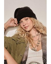 Free People Multicolor Outside The Lines Beanie