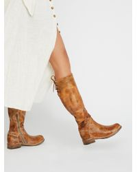 Free People - Brown Manchester Tall Boot - Lyst