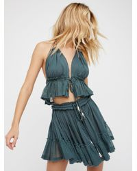 Free People Blue 200 Degree Co-ord