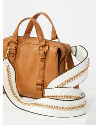 Free People - White Vegan Chain Bag Strap - Lyst