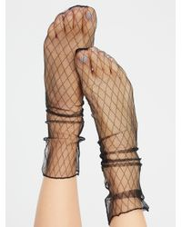 Free People | Multicolor Hey You Sheer Anklet | Lyst