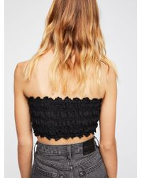 Free People - Black Fp One Lissabeth Bra - Lyst