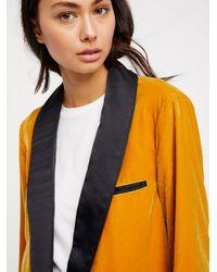 Free People Black Clothes Jackets & Outerwear Blazers Press Rewind Blazer