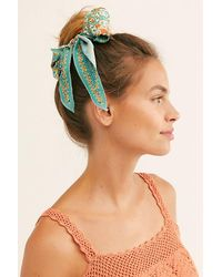 Free People Green On The Road Scarf Pony