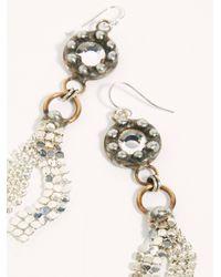 Free People Metallic Sedona Duster Earrings By Mikal Winn