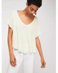 Free People White We The Free The One Tee
