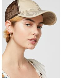 Free People Natural Sunbleached Ball Cap